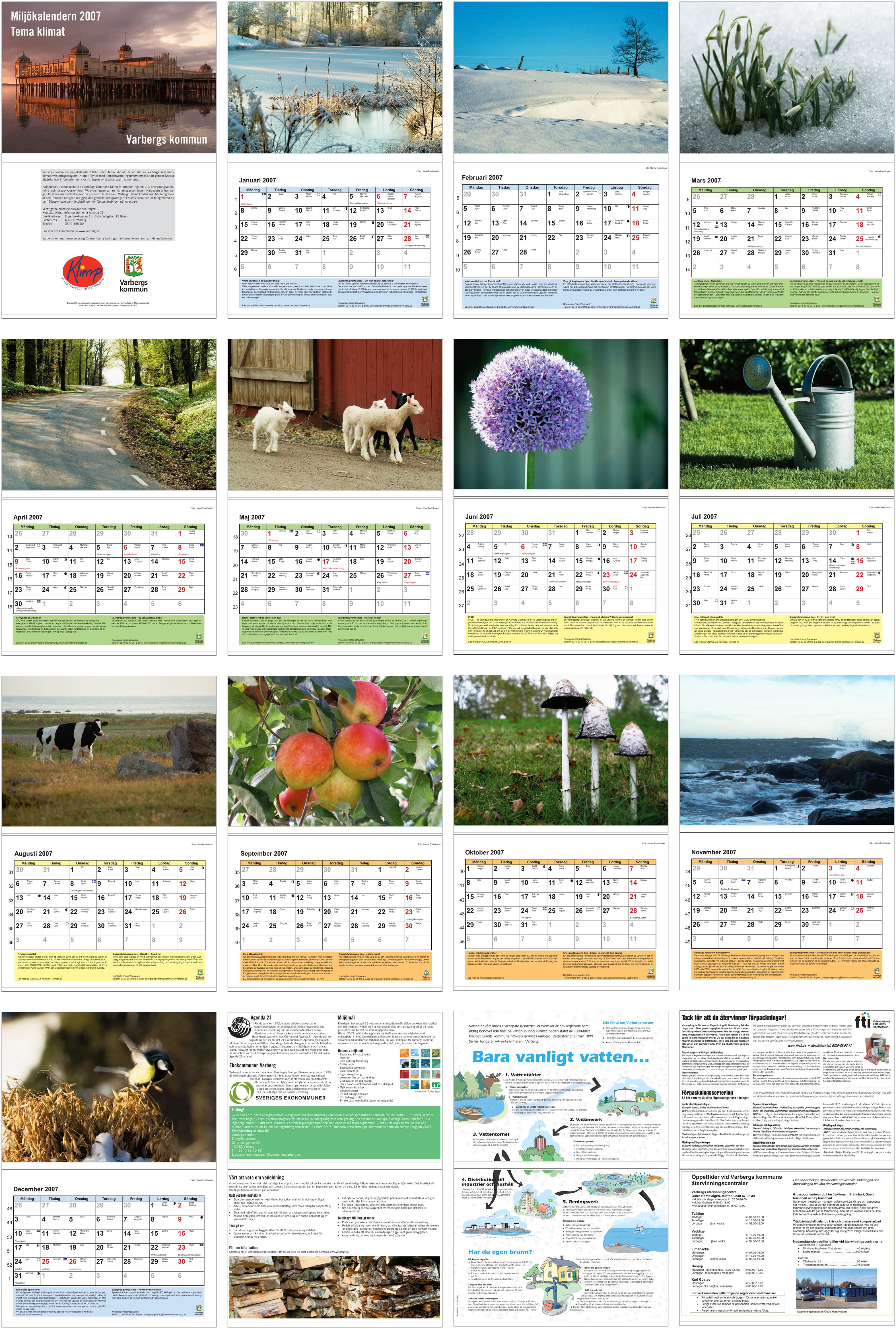 Kalender kommunen